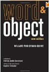 Word and Object new edition