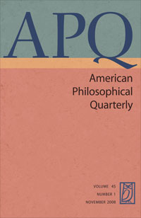 American Philosophical Quarterly Quine