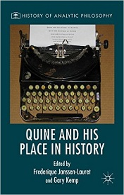 Quine and His Place in History book cover