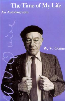 [w v quine autobiography book cover]