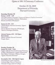 Harvard University Centenary Progfram
