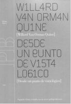 W. V. Quine Spanish From A Logical Point of View
