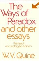 Ways of Paradox